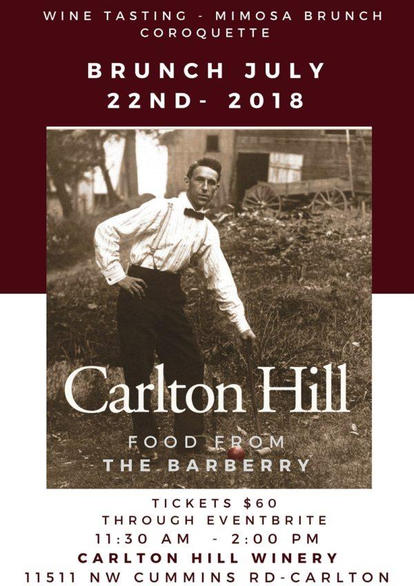 Carlton Hill Vineyard Bunch!